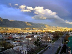 Nice view of Kamloops
